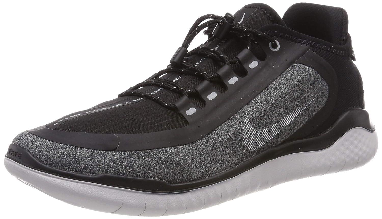finest selection 067d6 56ca4 Amazon.com   Nike Men s Free RN 2018 Shield Running Shoe Black   Road  Running