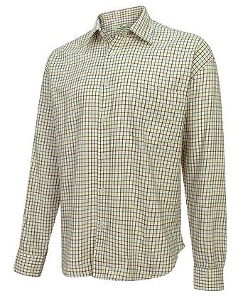 bcd87f04 Hoggs Tattersall Shirt Wine: Amazon.co.uk: Clothing