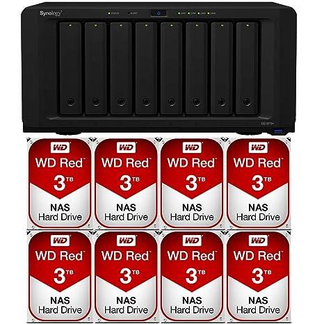 Synology DiskStation DS1819+ Ethernet Torre Negro NAS - Unidad ...