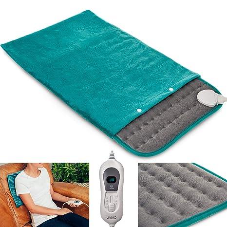 Fineway - Almohadilla térmica térmica para el cuello con calefacción, para alivio del dolor,