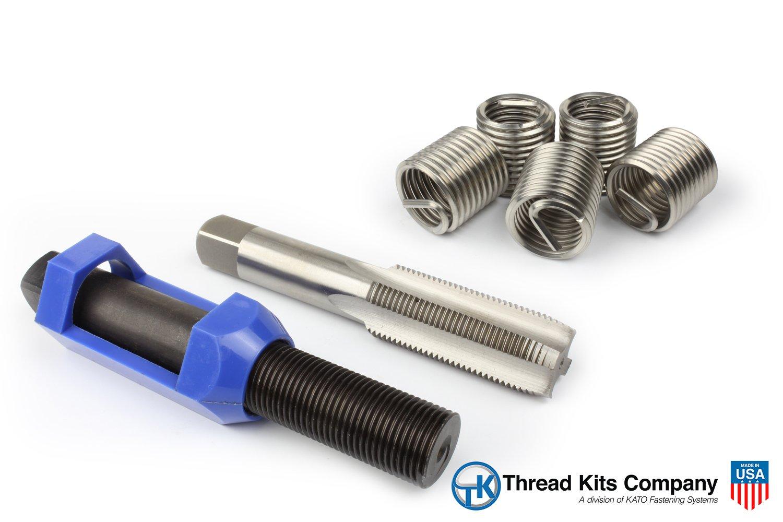 Perma Coil 3208-F18 Thread Repair Kit 1 1/8-12- 5PC Helicoil 5528-18