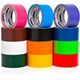 Amazon Com Bazic Fluorescent Colored Duct Tape Assorted
