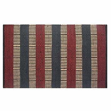 Teppich gestreift  Homescapes Naturfaser Teppich Läufer 66 x 200 cm 100% Jute Küchen ...