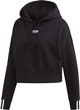 Sweat à Capuche Femme Adidas Crop Hood: : Sports et