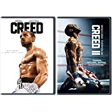 Creed 1 One & Creed 2 Two Michael B Jordan Sylvester Stallone 2 DVD Set