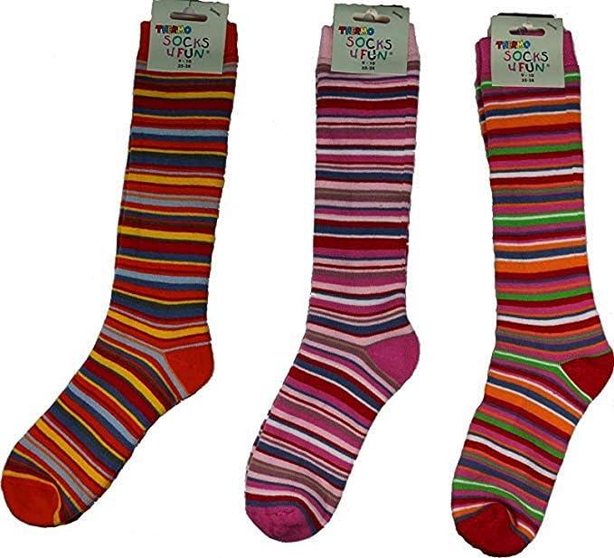 Calcetines térmicos de Socks Pur, completamente de rizo Paquete de 3.: Amazon.es: Ropa y accesorios