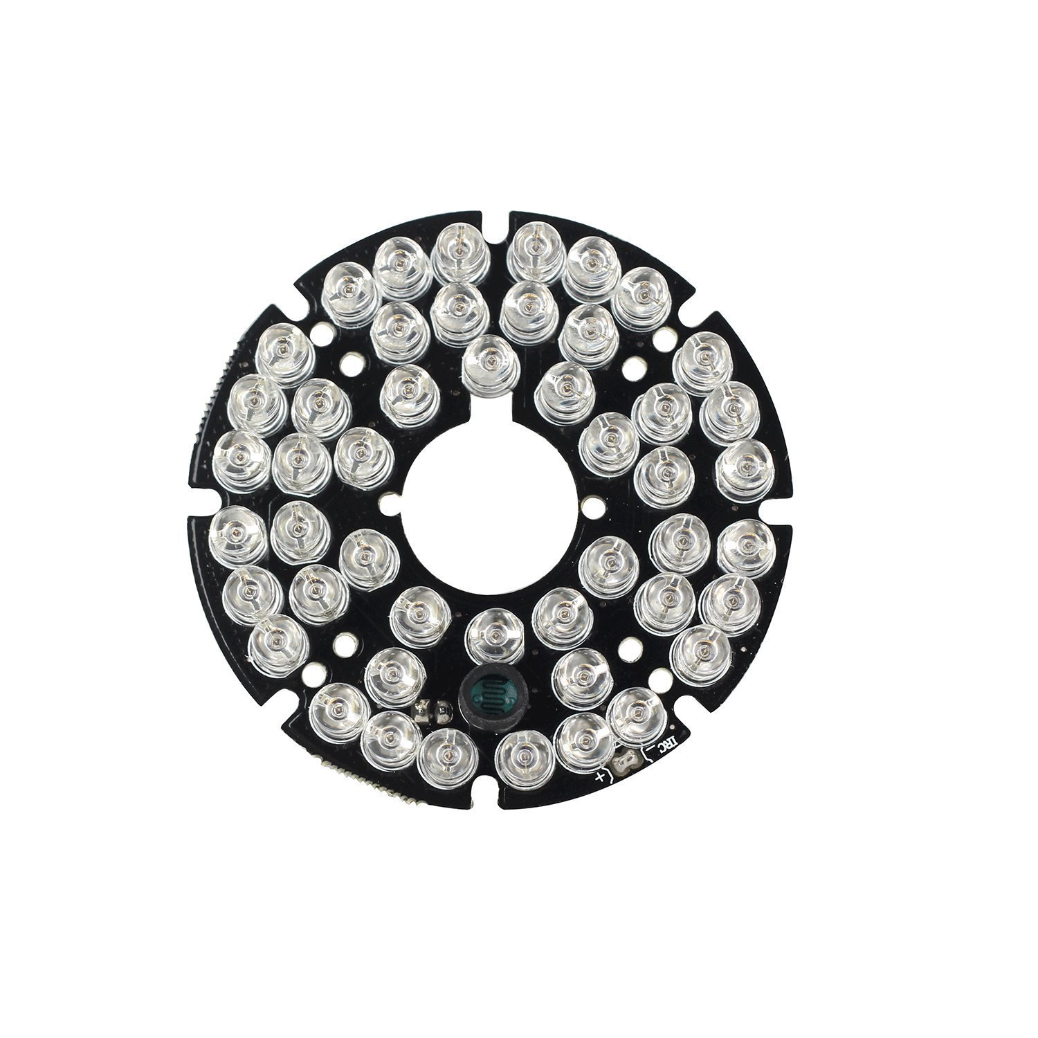 HonYan 2PCS 48 LEDs 5mm 940nm IR Infrared Board Round Plate 90 Degrees by HonYan