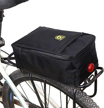 Bicicleta de equipaje portaequipajes bolsa de bicicleta Bolsa de ...