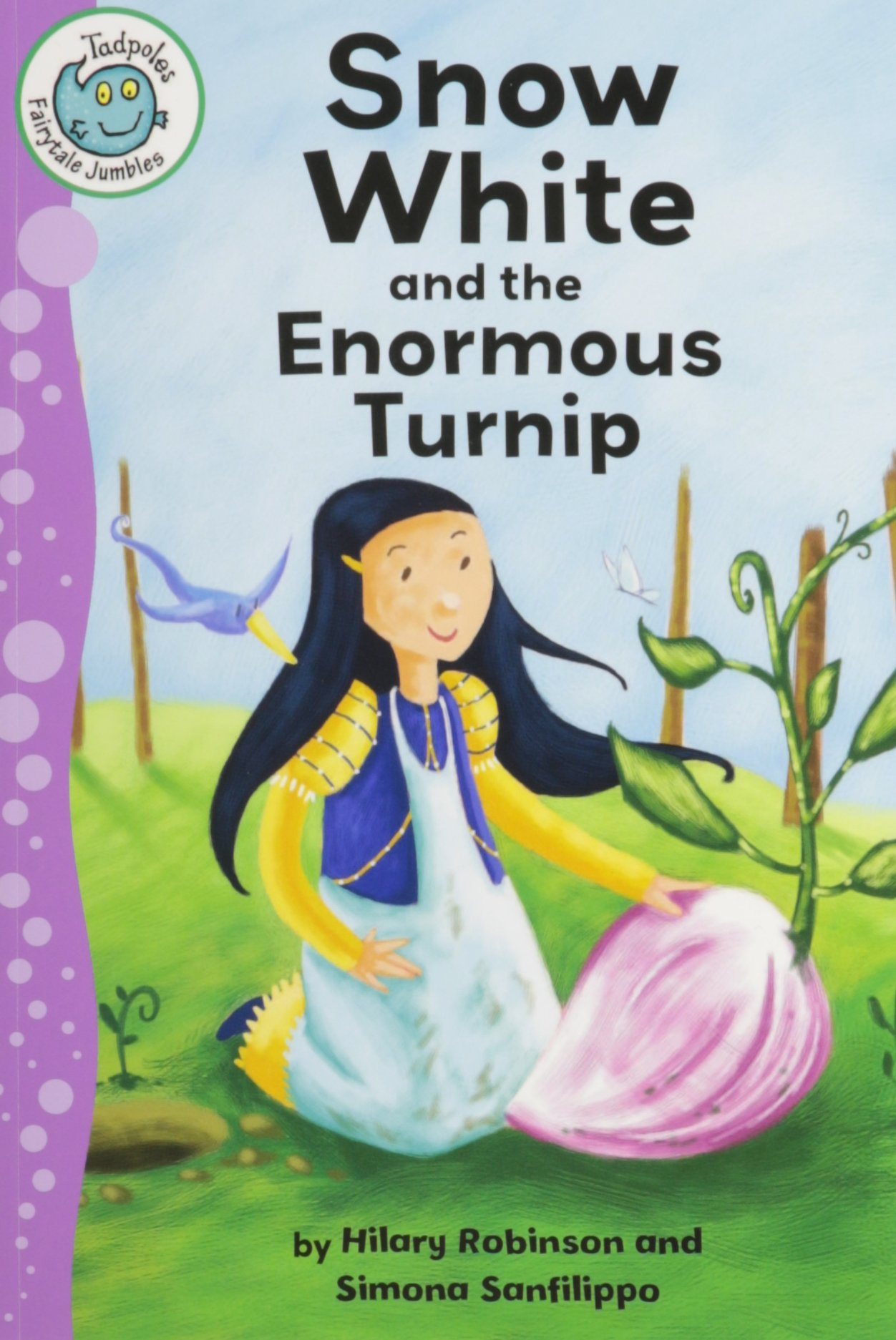 Download Snow White and the Enormous Turnip (Tadpoles: Fairytale Jumbles) pdf epub
