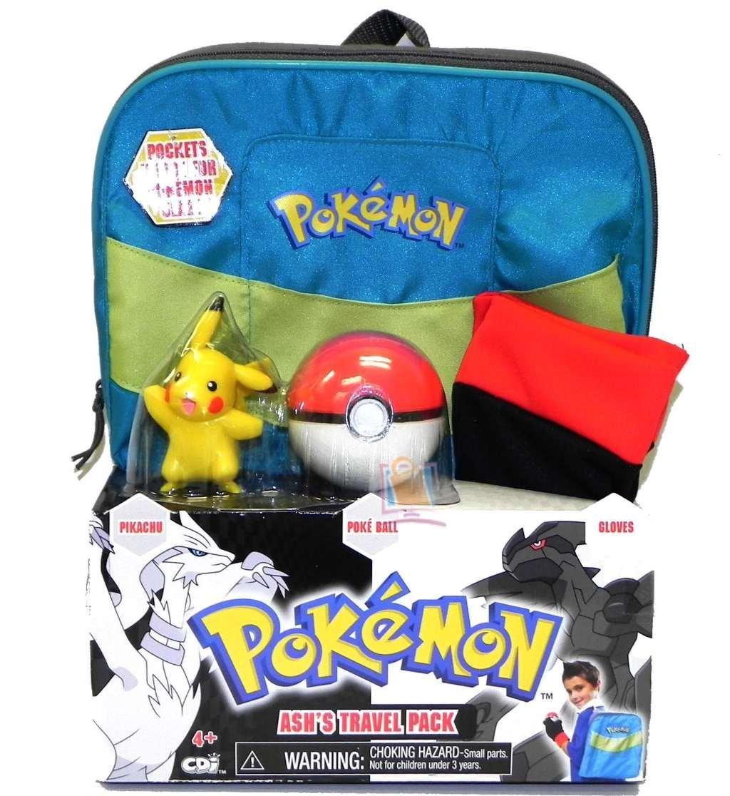 pokemon black u0026 white ash u0027s travel pack costume gift set backpack