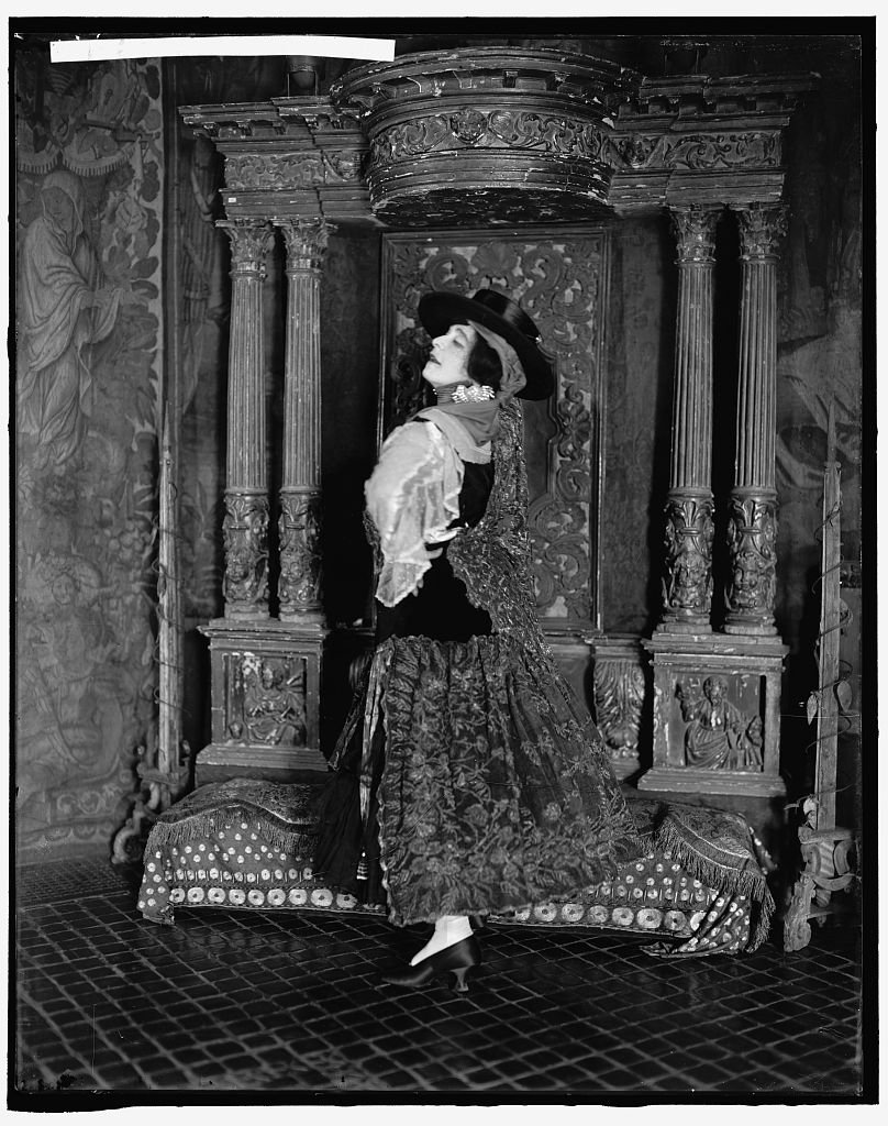 Vintography Reproduced 24 x 30 Photo Hemmick, Christian, Mrs. 1905-45 Harris & Ewing a98