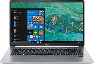 Acer Swift 5 15.6-inch FHD Touchscreen Premium Laptop PC, Intel Quad-Core i7-8565U, Intel UHD Graphics 620, 16GB DDR4 RAM, 512GB SSD, Backlit Keyboard, Windows 10 Home 64 bit, Silver
