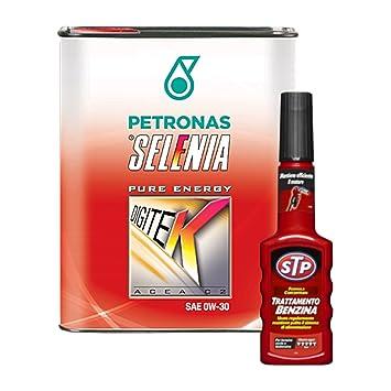 Kit 6 L Aceite Motor Coche Selenia DIGITEK + aditivo STP Tratamiento Gasolina: Amazon.es: Coche y moto