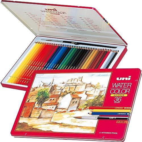 三菱鉛筆 水彩色鉛筆 ユニウォーターカラー36色 UWC3