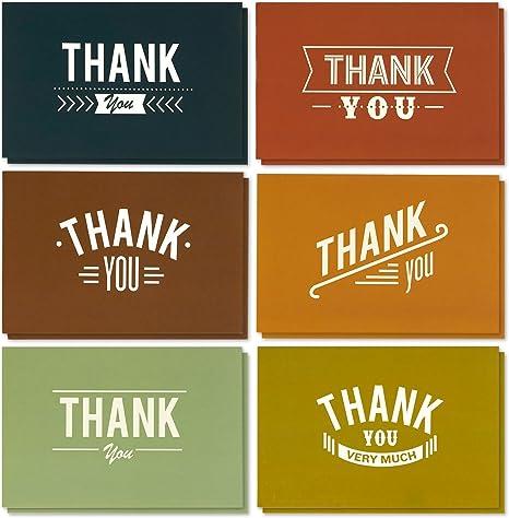 Amazon.com: Tarjetas de agradecimiento - Caja al por mayor ...
