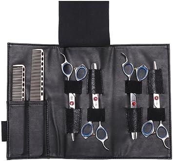 Bolsa para tijeras de peluquería, Organizador de peines y tijeras para peluquero – Piel de máxima calidad