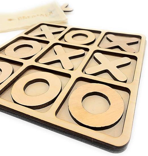 Crossex Wood Construction Puzzle Wooden Brain Teaser