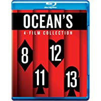 Ocean's 4 Movies Collection: Ocean's 8, 11, 12 & 13 (4-Disc Box Set)