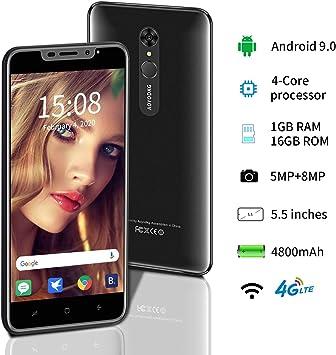 AOYODKG Smartphone 2020, 5.5 Pulgadas con Dual SIM Dual Standby ...