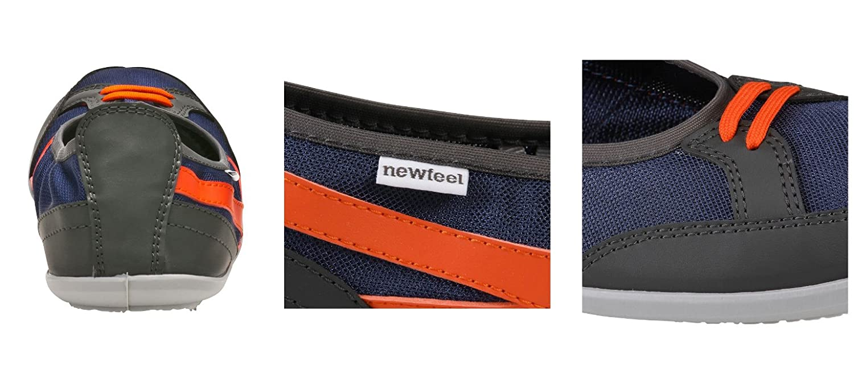 NEWFEEL - Bailarinas para Mujer Azul Azul Marino 37, Color Azul, Talla 35 EU / 3 UK: Amazon.es: Zapatos y complementos