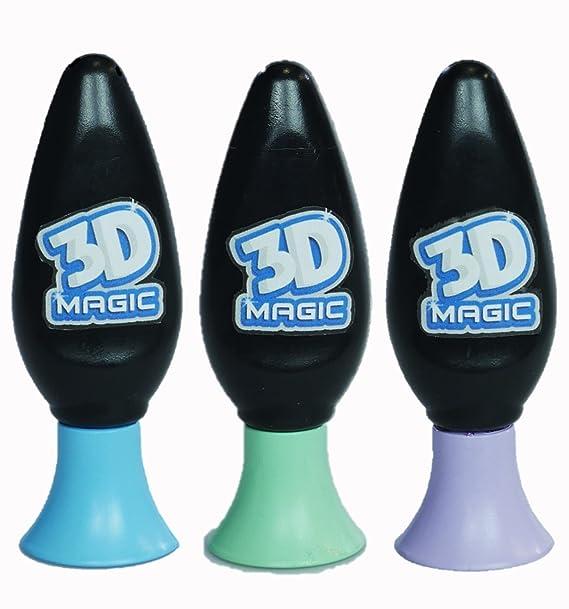 3D Magic 3 Gel Refil Set by ToyMarket