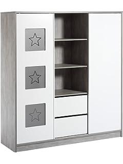 Schardt Kinderzimmer Eco Star mit 3-türigem Schrank: Amazon.de: Baby | {Schardt kinderzimmer 75}