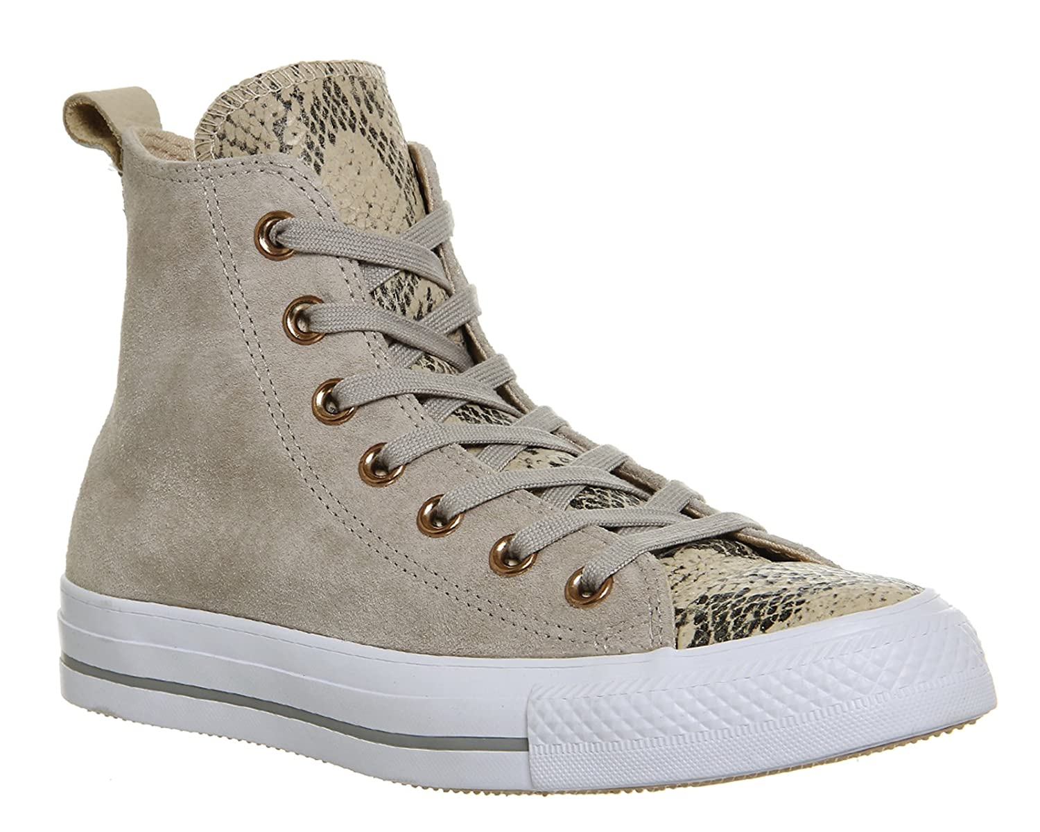 Converse Unisex Chuck Taylor All-Star High-Top Casual Sneakers in Classic Style and Color and Durable Canvas Uppers B01L0XF1A4 9 M US|Papyrus/White/Dolphin