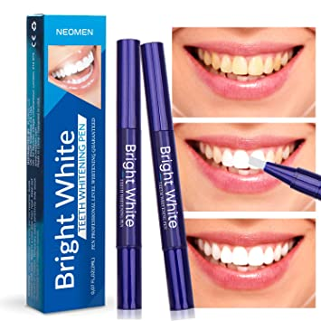Neomen Teeth Whitening Pen (2 Pack) - 35% Carbamide Peroxide Gel, Safe and  Effective for Teeth