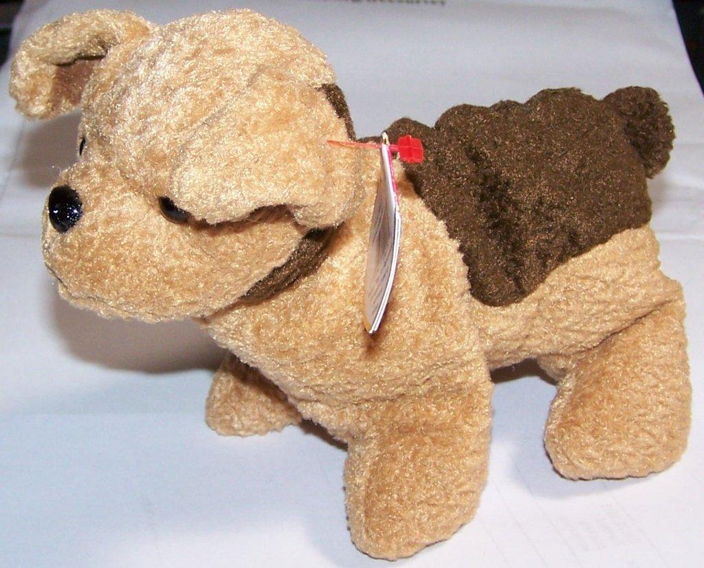 3109f692405 Amazon.com  Ty Beanie Babies Tuffy - Dog  Toys   Games