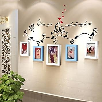 Dengju Foto Wand Bilderrahmen Kinderzimmer Bunte Schlafzimmer