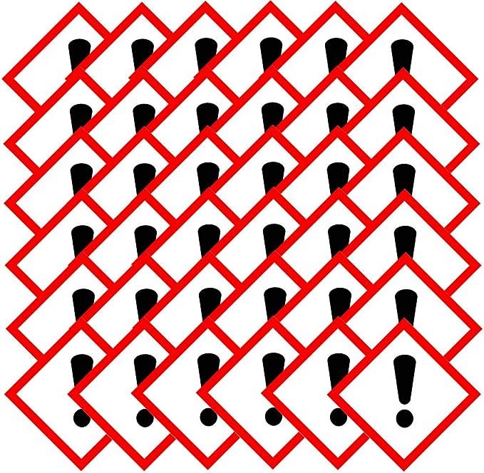 1000 GHS08 Aufkleber Folie 15x15 mm gesundheitsgefährdend Stoffe Gefahrensymbole