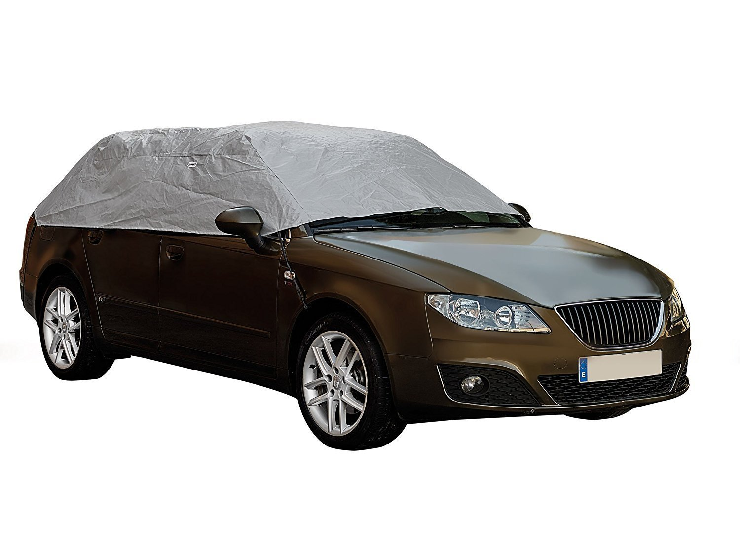 Sumex Waterproof & Breathable Weather & Frost Protection Car Half Top Cover (Extra Large - (317 x 157 x 51cm)) Sumex Cover+