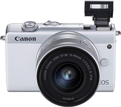 Canon EOS M200 - Cámara de 24.1 MP (EF15-45mm f/3.5-6.3 IS STM ...