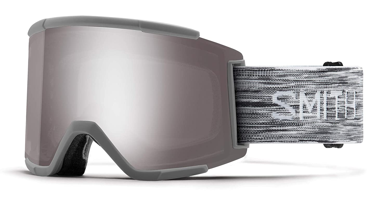 Smith Optics Squad Xl Adult Snow Goggles Cloudgrey//Chromapop Sun Platinum Mirror//One Size SQX2CPPCLD19