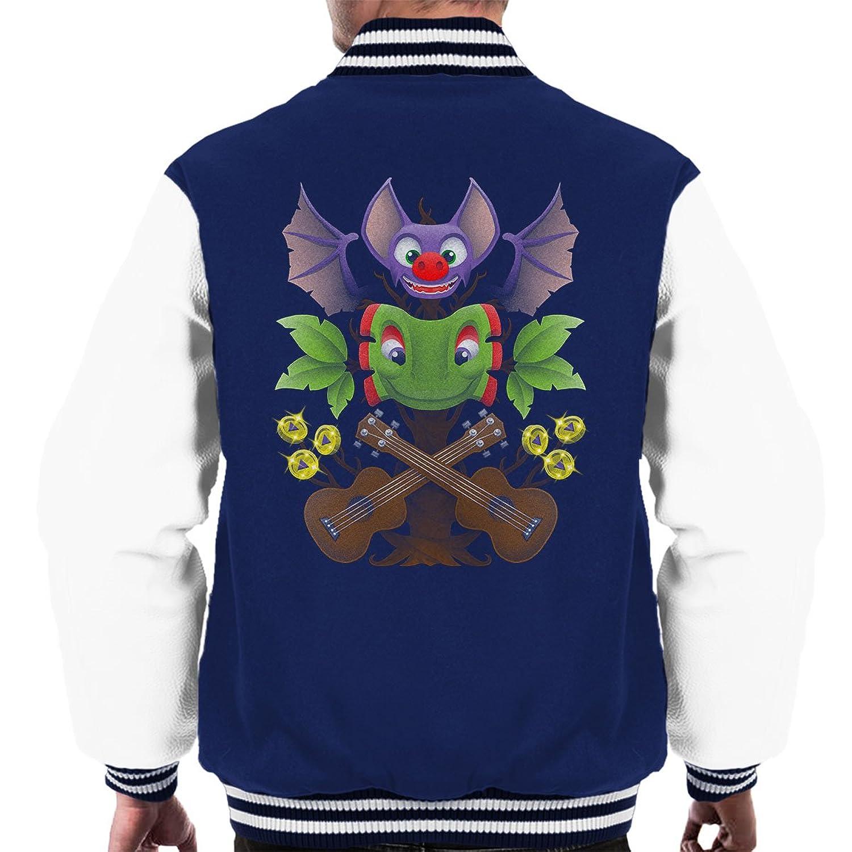 Spiritual Successor Yooka-Laylee Banjo Kazooie Men's Varsity Jacket