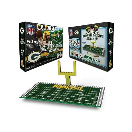 Amazon.com : NFL Green Bay Packers Endzone Toy Set : Sports Fan ...