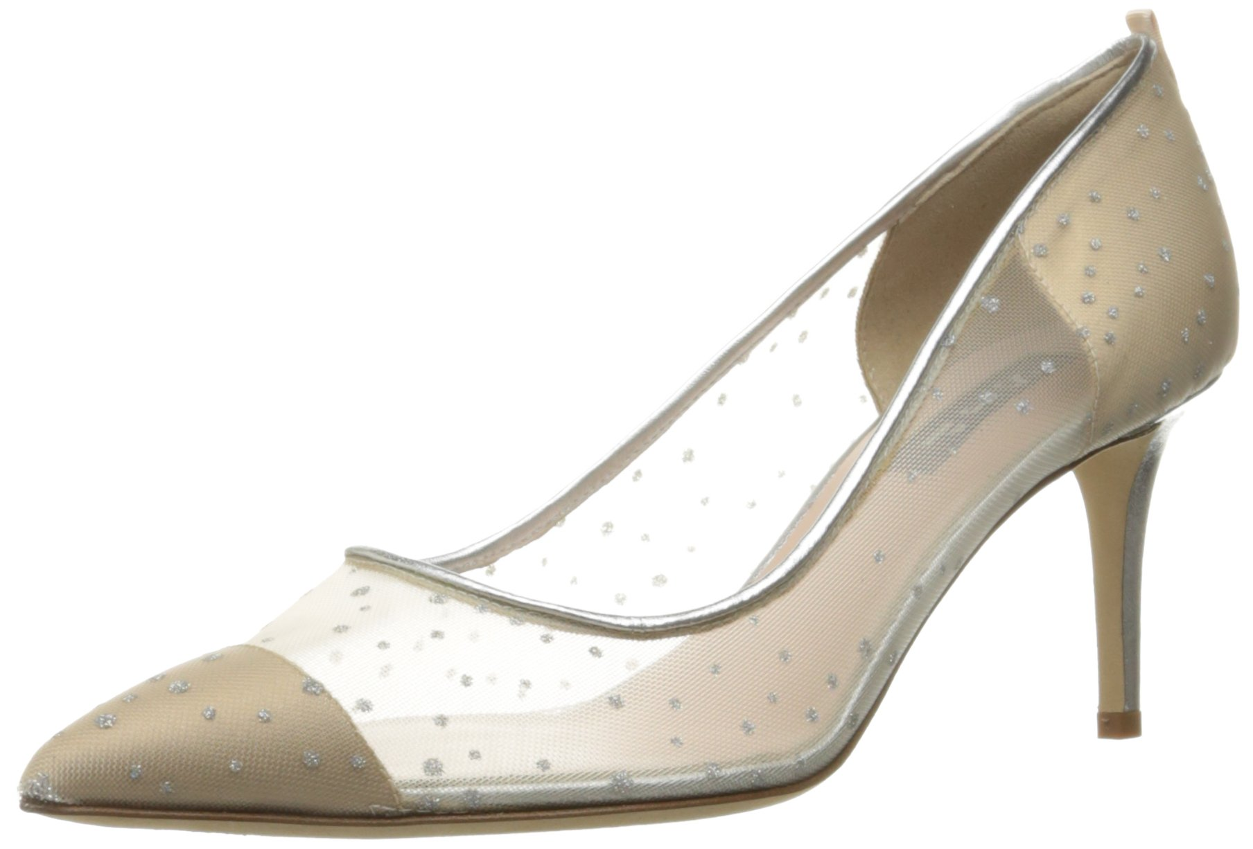 SJP by Sarah Jessica Parker Women's Glass 70 Dress Pump, Ivey, 38.5 EU/8 B US by SJP by Sarah Jessica Parker