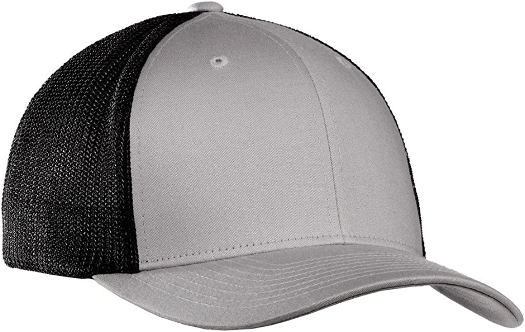 Joe's USA Mesh Back Flex-Fit Trucker Style Caps in 8 Colors