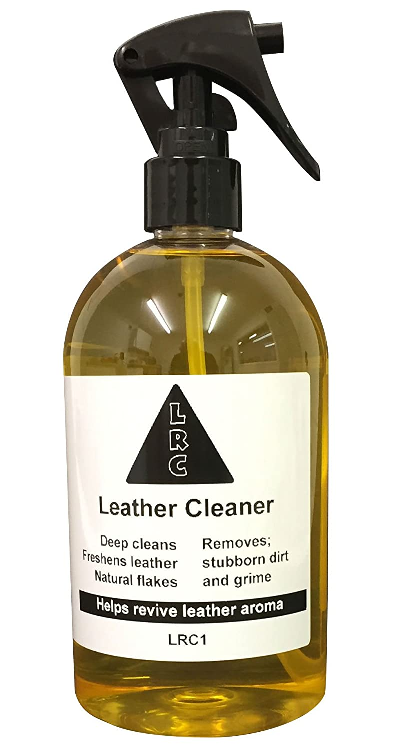 Deep Cleaning Leather Cleaner - For Car Seats Sofas Shoes Handbags Furniture Saddles Jackets and more - by Leather Repair Company - 250ml Leather Repair Company (LRC)