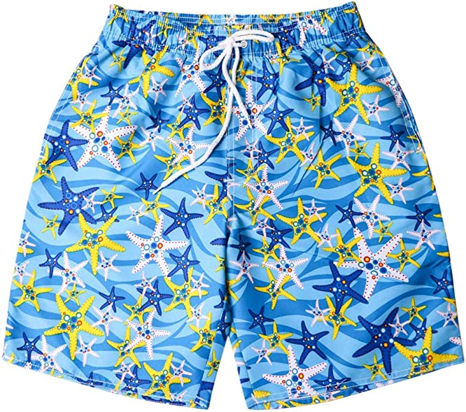 PREtty-2 Mens Womens Swimming Shorts Plus Size Quick Dry Boardshorts Sportswear Swimwear Couple