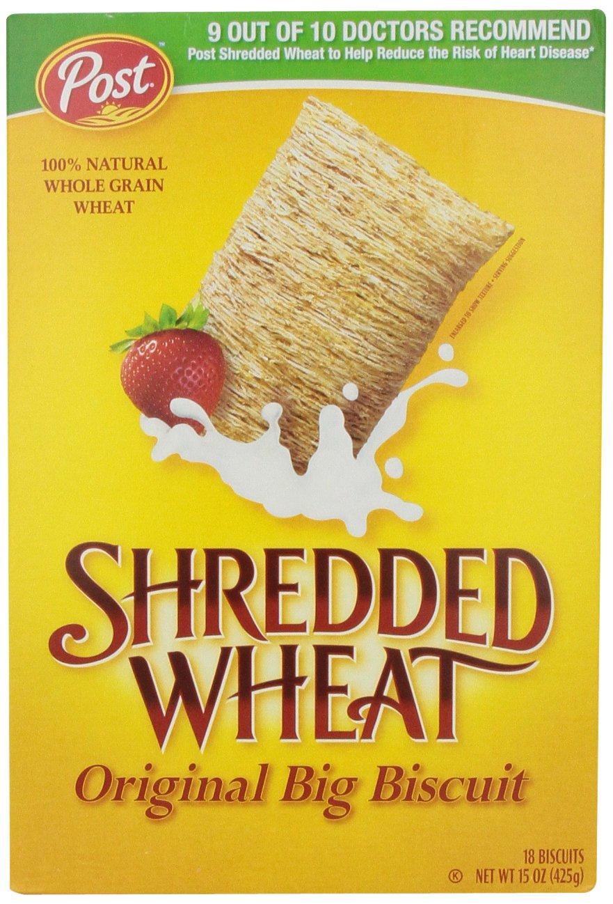Shredded Wheat Cereal, 15 oz