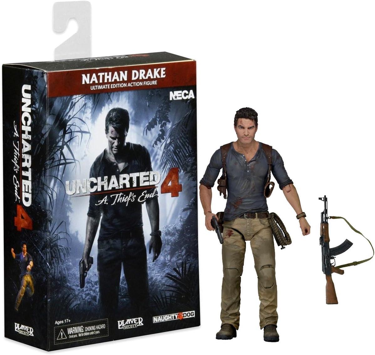 Amazon Com Neca Uncharted 4 Ultimate Nathan Drake Action Figure
