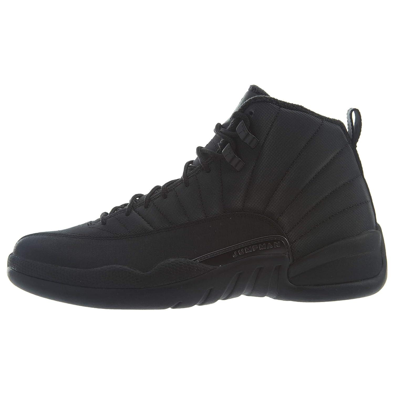 hot sale online 50b7a e0702 Jordan Men's Air 12 Retro WNTR, Black/Black-Anthracite