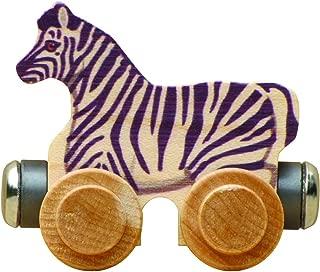 product image for NameTrain - Zoe Zebra - Made in USA