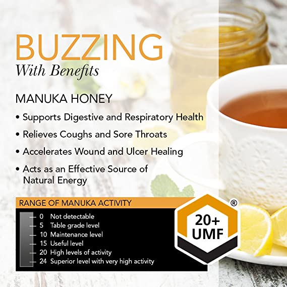 Steens - Raw 20+ Manuka Honey - 340g