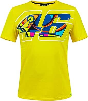 VR46 Valentino Rossi - Camiseta de manga corta para hombre, diseño de casco de MotoGP