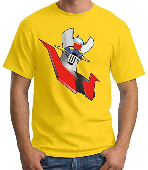 35mm - Camiseta Hombre Mazinger Z-retro Myrf4lEgh