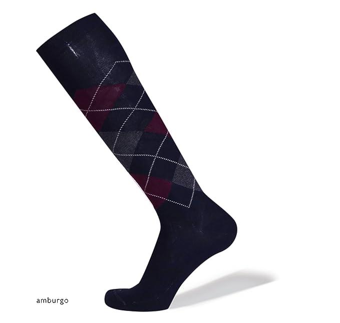 SANGIACOMO WE LOVE SOCKS ARGYLE - Calcetines altos para Hombre en algodón, Rombos: Amazon.es: Ropa y accesorios