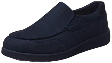 24 HORAS 10301, Mocasines para Hombre, Azul (Marino 5), 41 EU: Amazon.es: Zapatos y complementos