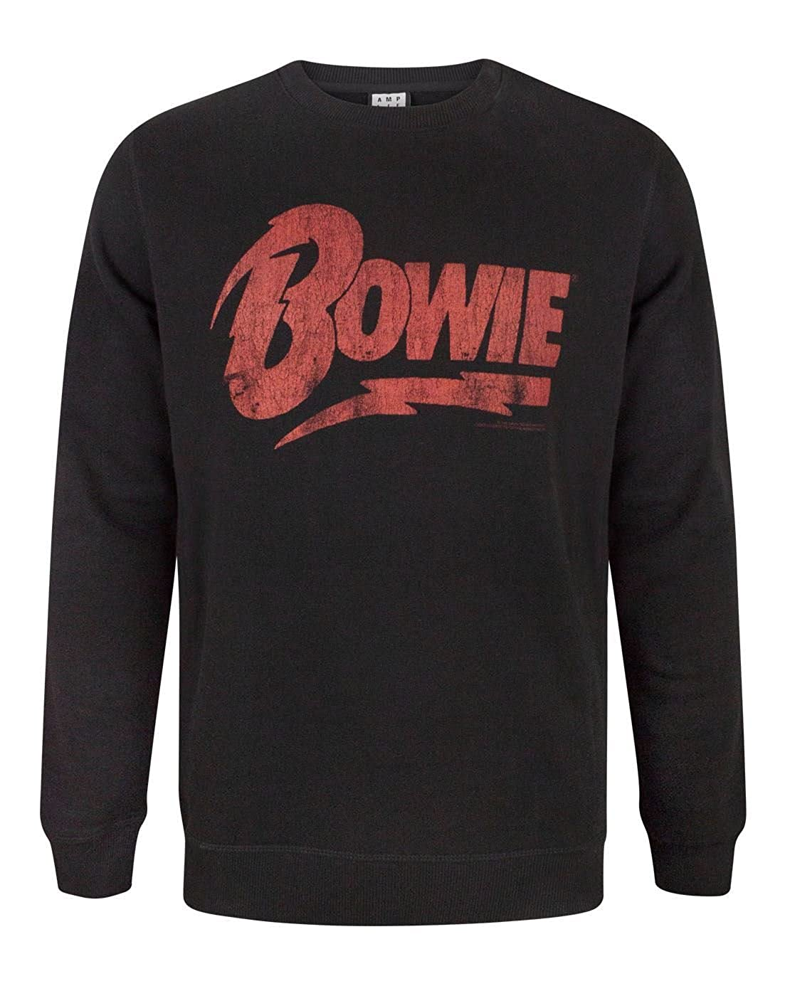 Amplified David Bowie Logo Men& 039;s Sweatshirt